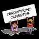 Inscriptions ouvertes